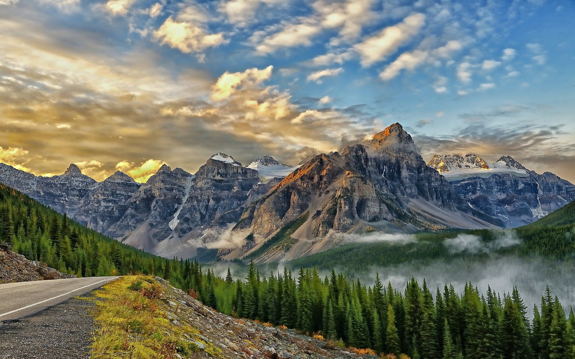 mountain screensavers and backgrounds free Mountain