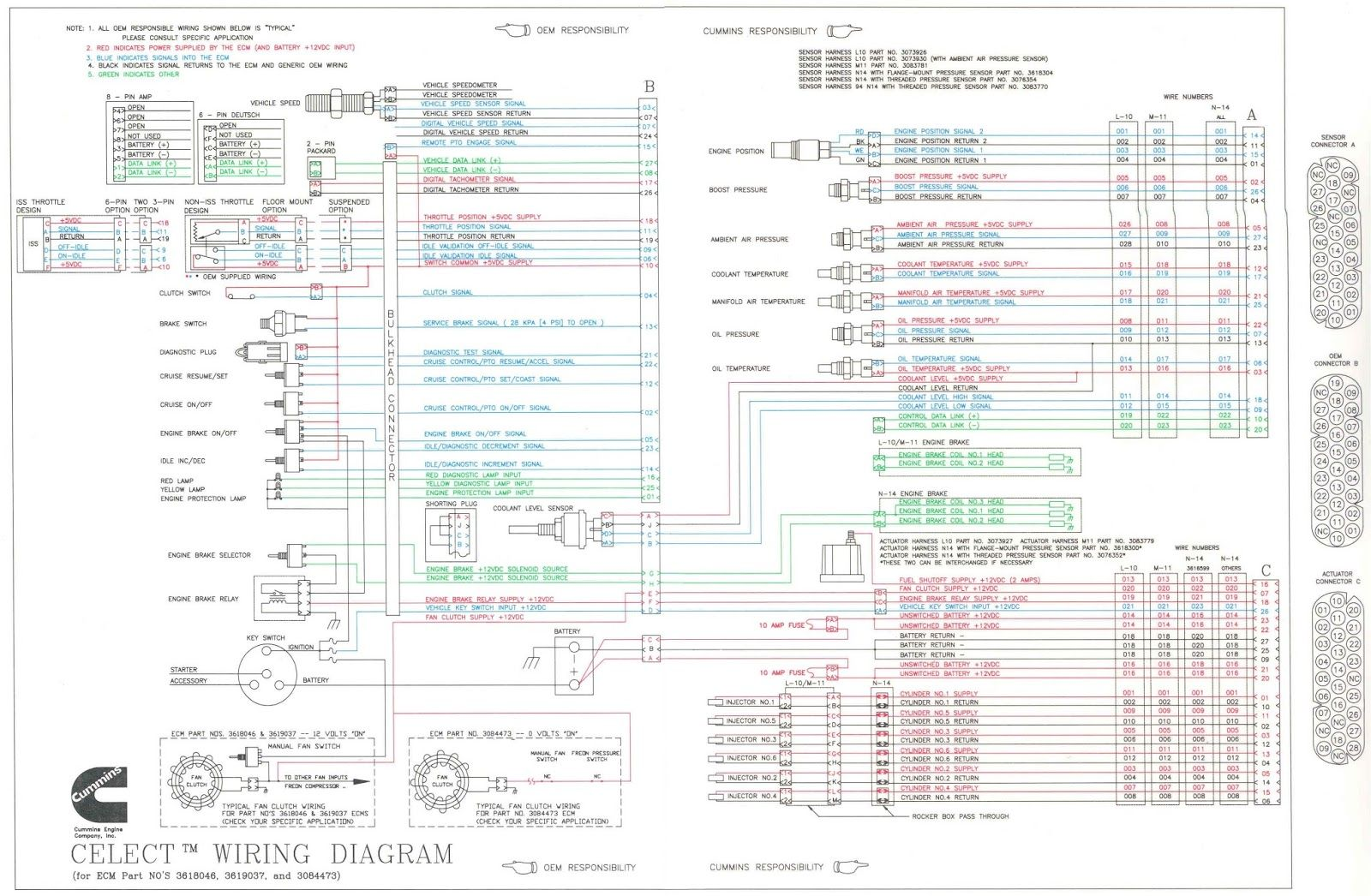 [DHAV_9290]  Stunning N14 Celect Ecm Wiring Diagram Photos Electrical And For Cummins |  Cummins, Electrical diagram, Cummins trucks | Cummins N14 Wiring Schematic |  | Pinterest