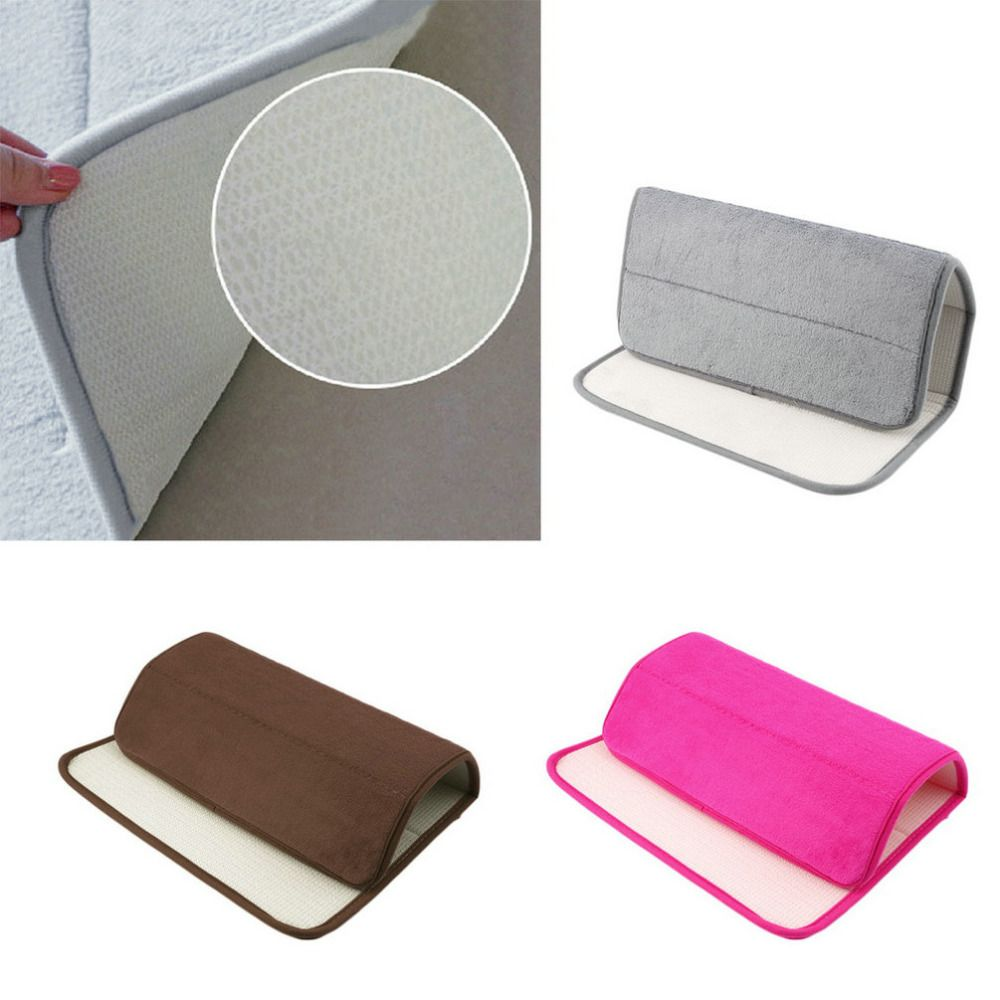 Hot search memory foam bath mats bathroom horizontal stripes rug
