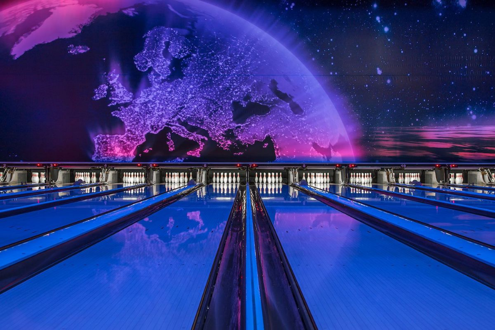 Germany S Retro Bowling Alleys Look Like They Re Straight Out Of A Wes Anderson Film On Image Making Bowling Germany Interior Photography