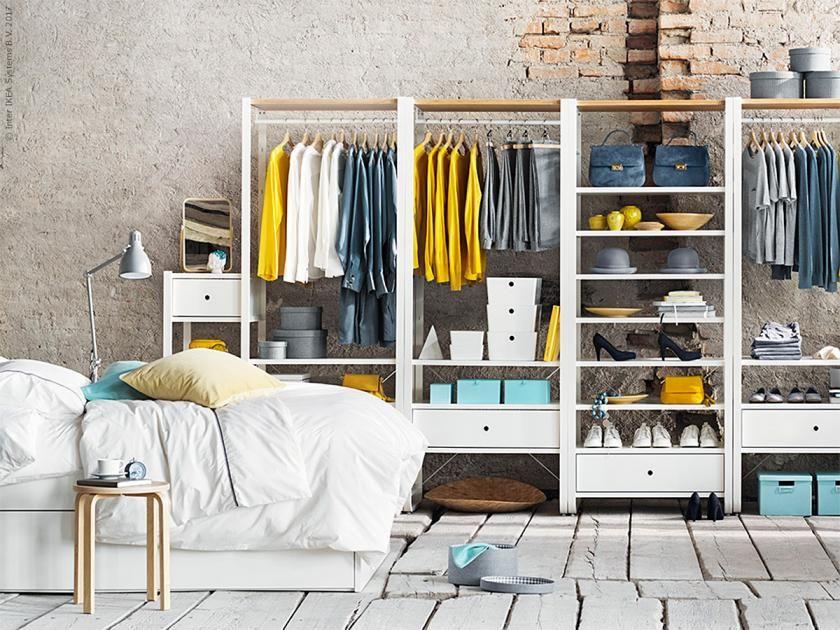 ▷ Ordnung im Kleiderschrank 15 Tipps 5 Verstauen mit System
