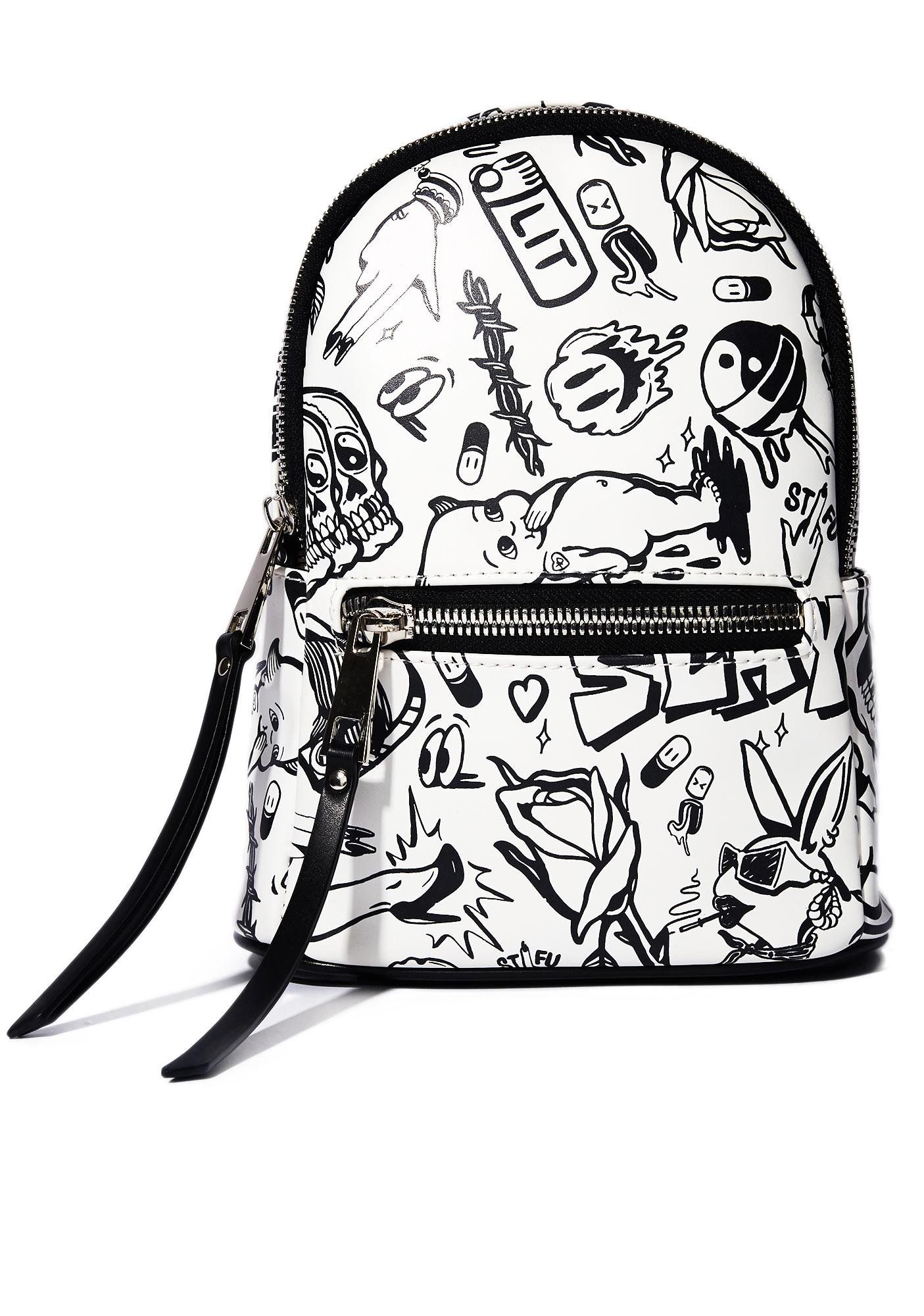 Show Me Your Doodles Mini Backpack