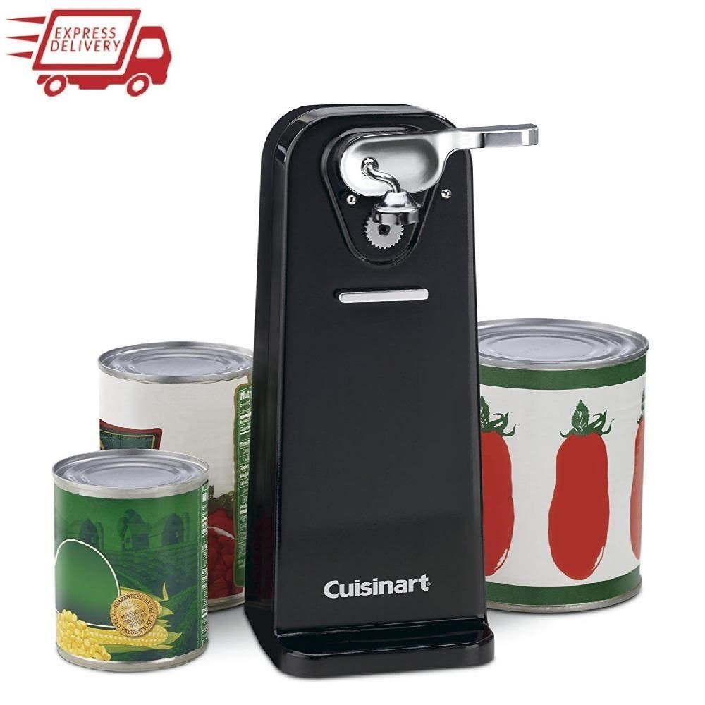 Pin On Electric Can Opener Kitchen Tool Precision Power Cut Blade