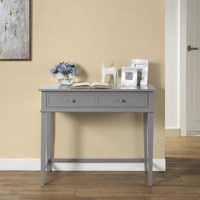 Beachcrest Home Dmitry Writing Desk Color Gray Products