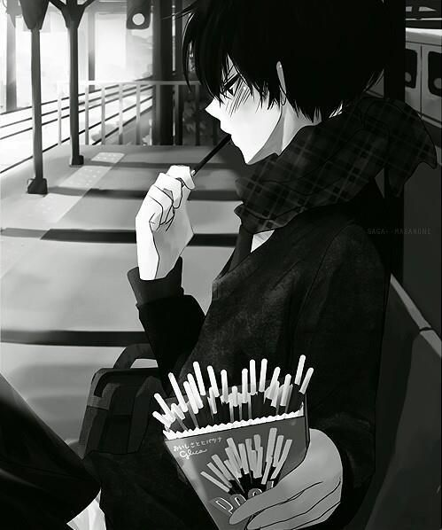 Sad Anime Black And White Wallpaper Tumblr