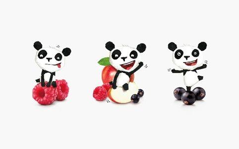 Melvin the panda, for Panda Drinks