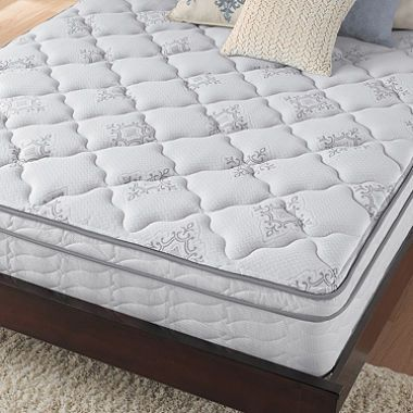 Serta Perfect Sleeper Chasefield Plush Eurotop Queen Mattress Set