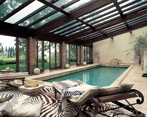 This Is How Celebrities Do Swimming Pools Indoor Swimming Pool Design Indoor Pool Design Luxury Pools