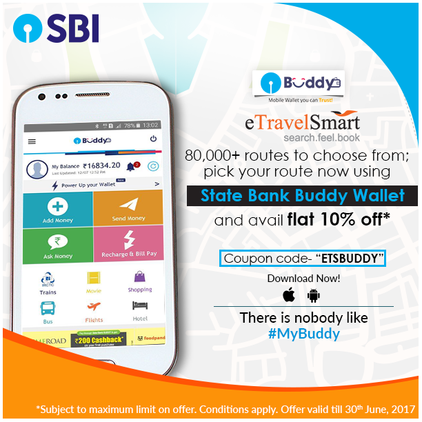 Book Bus Tickets On Etravelsmart And Get Up To 10 Off When You Pay Through Your Buddy Wallet Coupon Code Etsbuddy T Cs H Mobile Wallet Coupon Codes Buddy