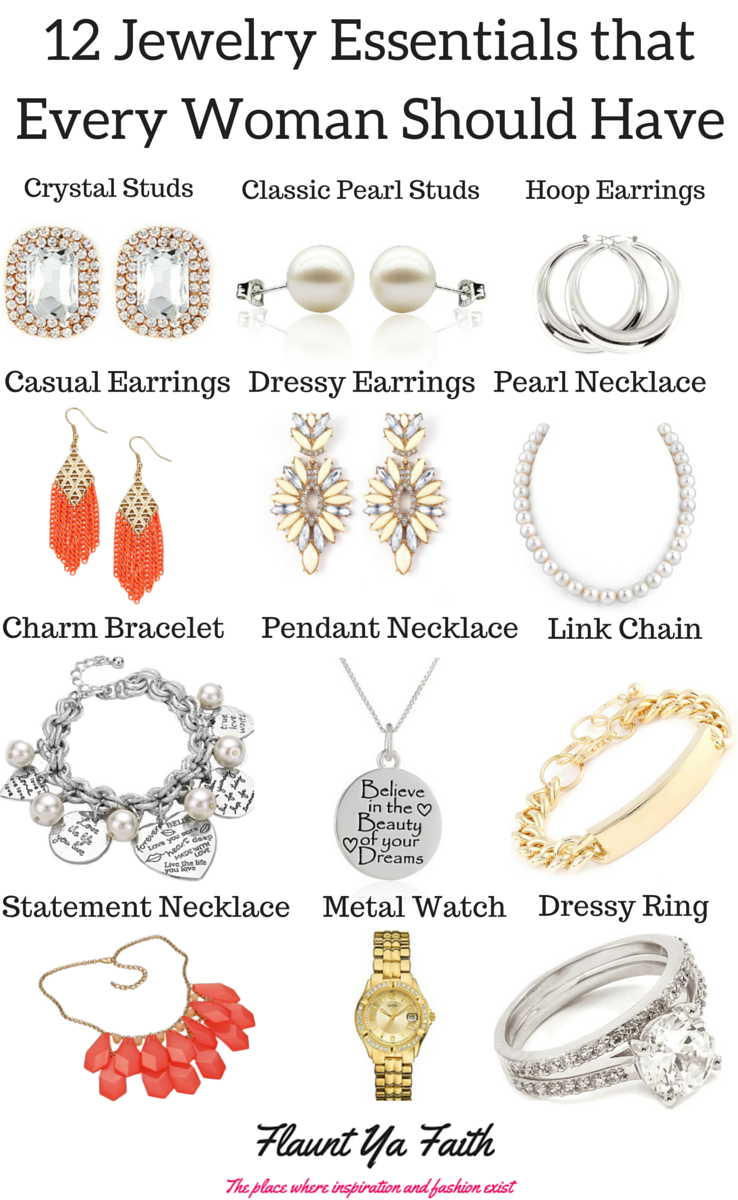 12 jewelry essentials that every woman should have | essentials