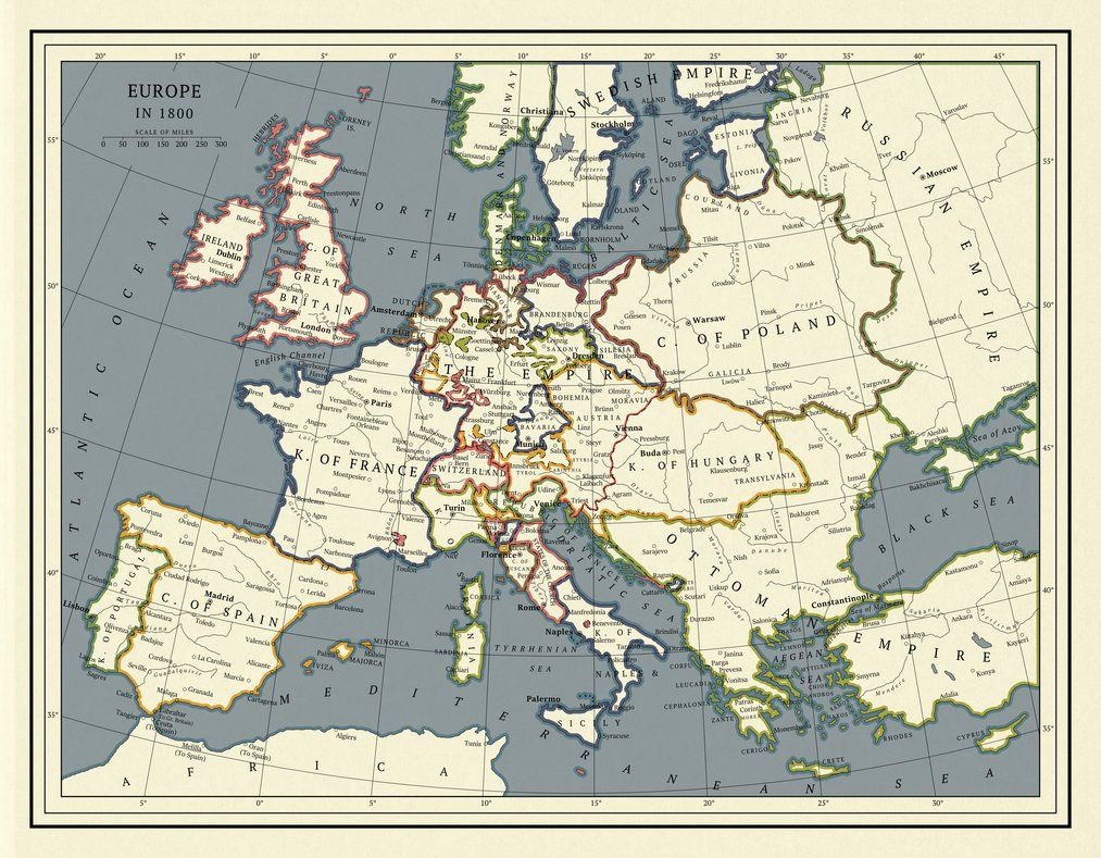 Where Hearts Were Entertaining June: Europe 1800 by ToixStory on ...