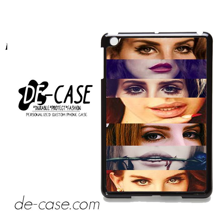 Lana Del Rey Eyes & Lips For Ipad Mini 2/3/4 Ipad 2/3/4 Ipad Air 1/2 Case Phone Case Gift Present YO