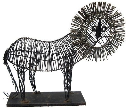 vintage wire lion sculpture#Repin By:Pinterest++ for iPad# | Wire ...