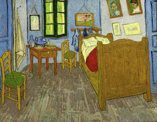 Vincent van Gogh - Van Goghs Schlafzimmer in Arles V Pinterest
