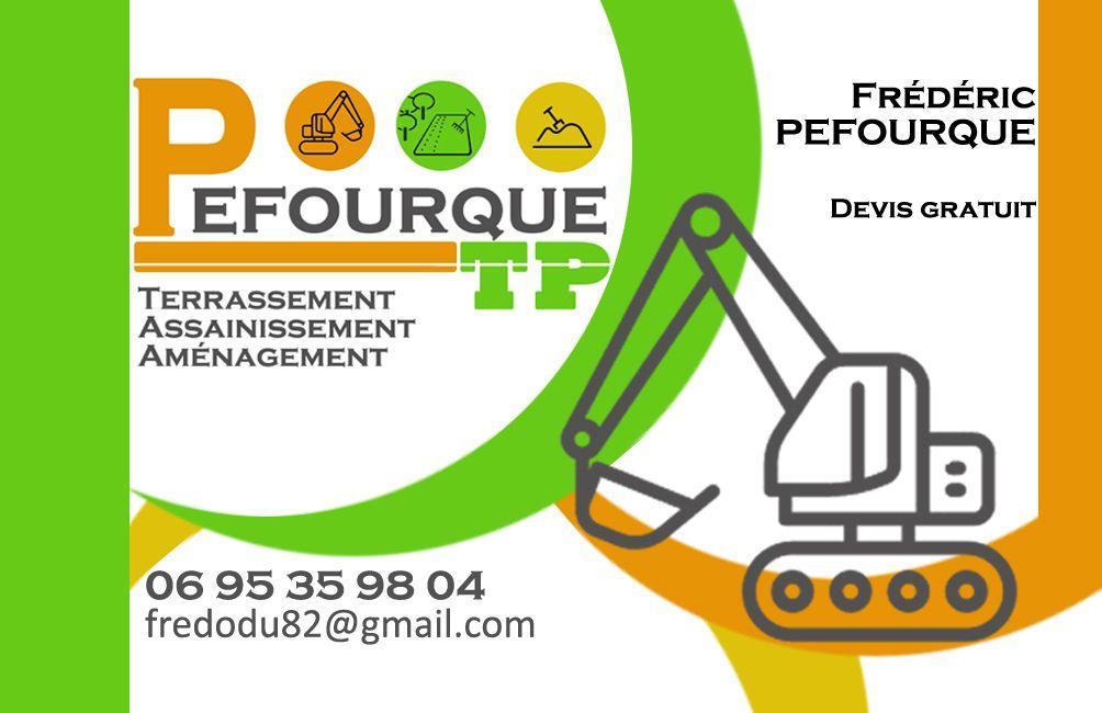 Carte De Visite Entreprise Pefourque TP