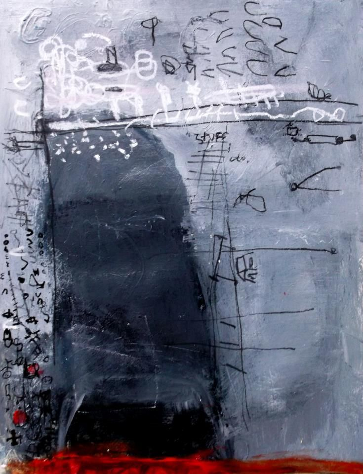 following the situation closely  wendy mcwilliams   22x24 in paper  2013