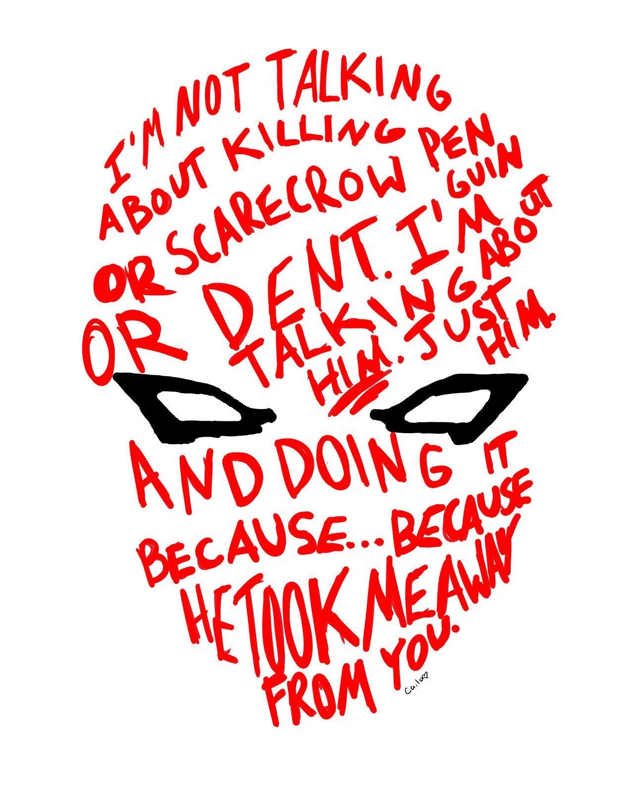 The Red Hood Helmet.... I get teary eyed every time I read ...