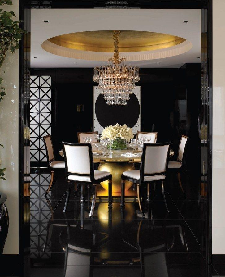 Best 25 Gold Dining Rooms Ideas On Pinterest Purple