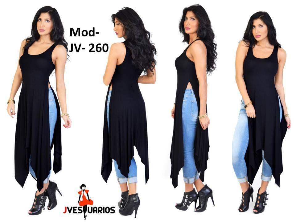 4bcf23b97 Vestidos Casuales Para Damas - Blusones Largos - Sobretodos - Bs ...