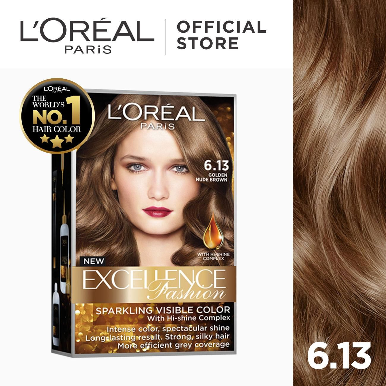 Excellence Fashion Parisian Gold World S No 1 By L Oreal Paris W Protective Serum Conditioner Lazada Ph In 2020 Loreal Paris Loreal Hair Color