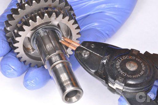 Honda Cr80 Cr85 Service Manual Transmission Gear Dis