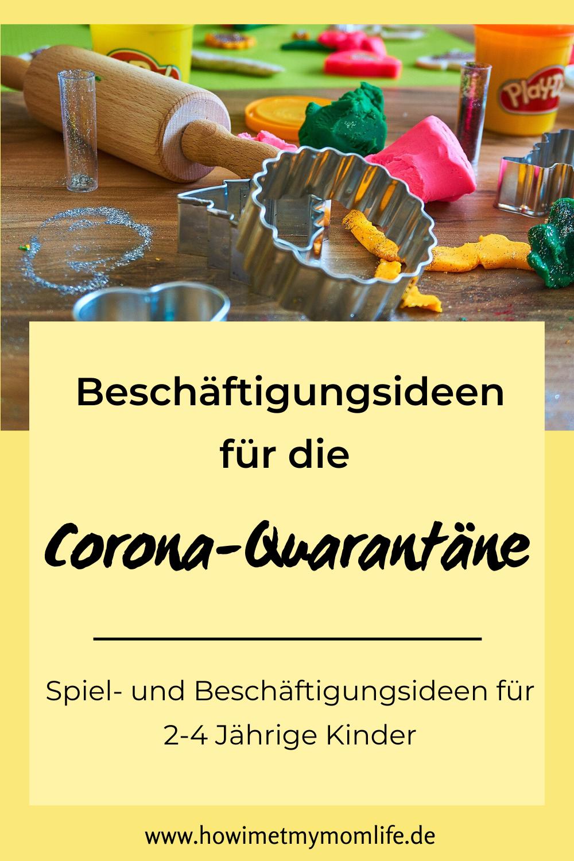 Beschäftigungsideen für Kinder in Corona-Quarantäne – HOW I MET MY MOMLIFE