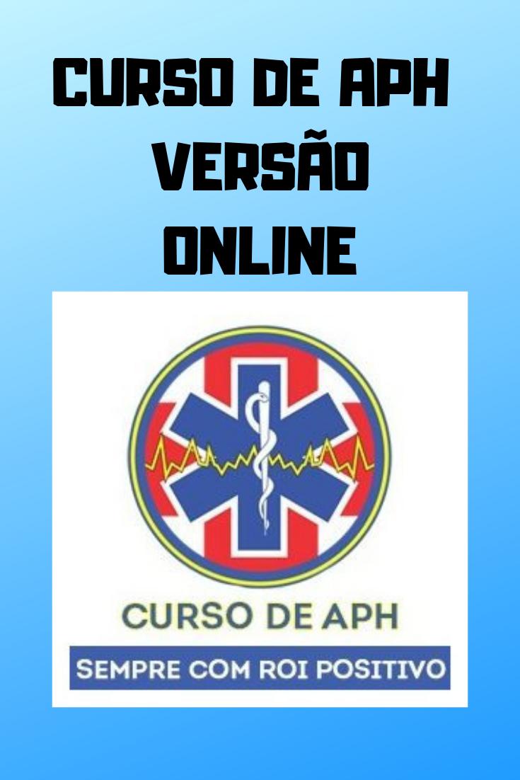 curso de aph online é valido
