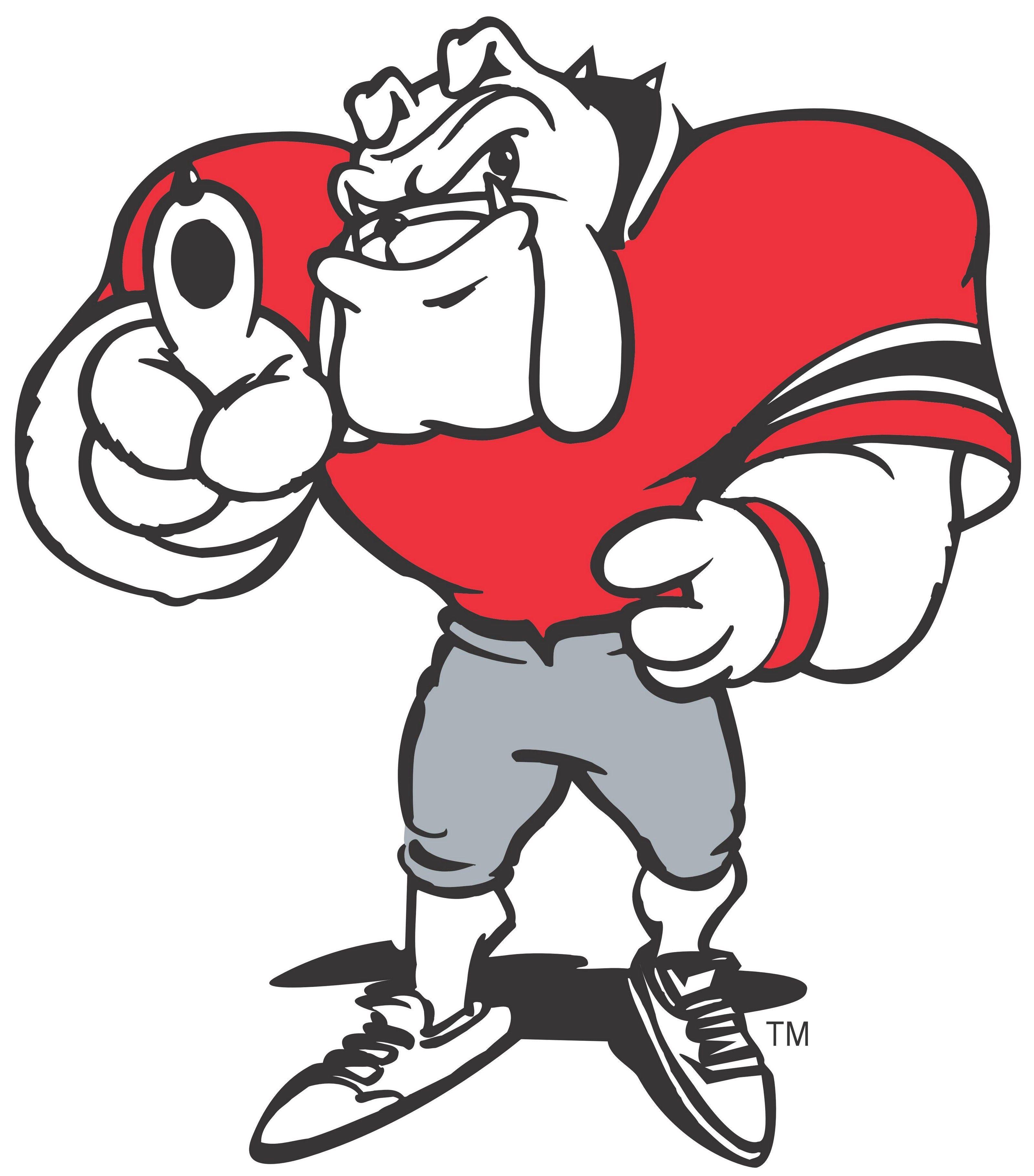 Free Georgia Bulldog Mascot Bulldog Clipart