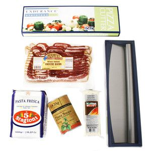 Bacon Lovers Pizza, $45.95, now featured on Fab. What a great idea for summer entertaining!