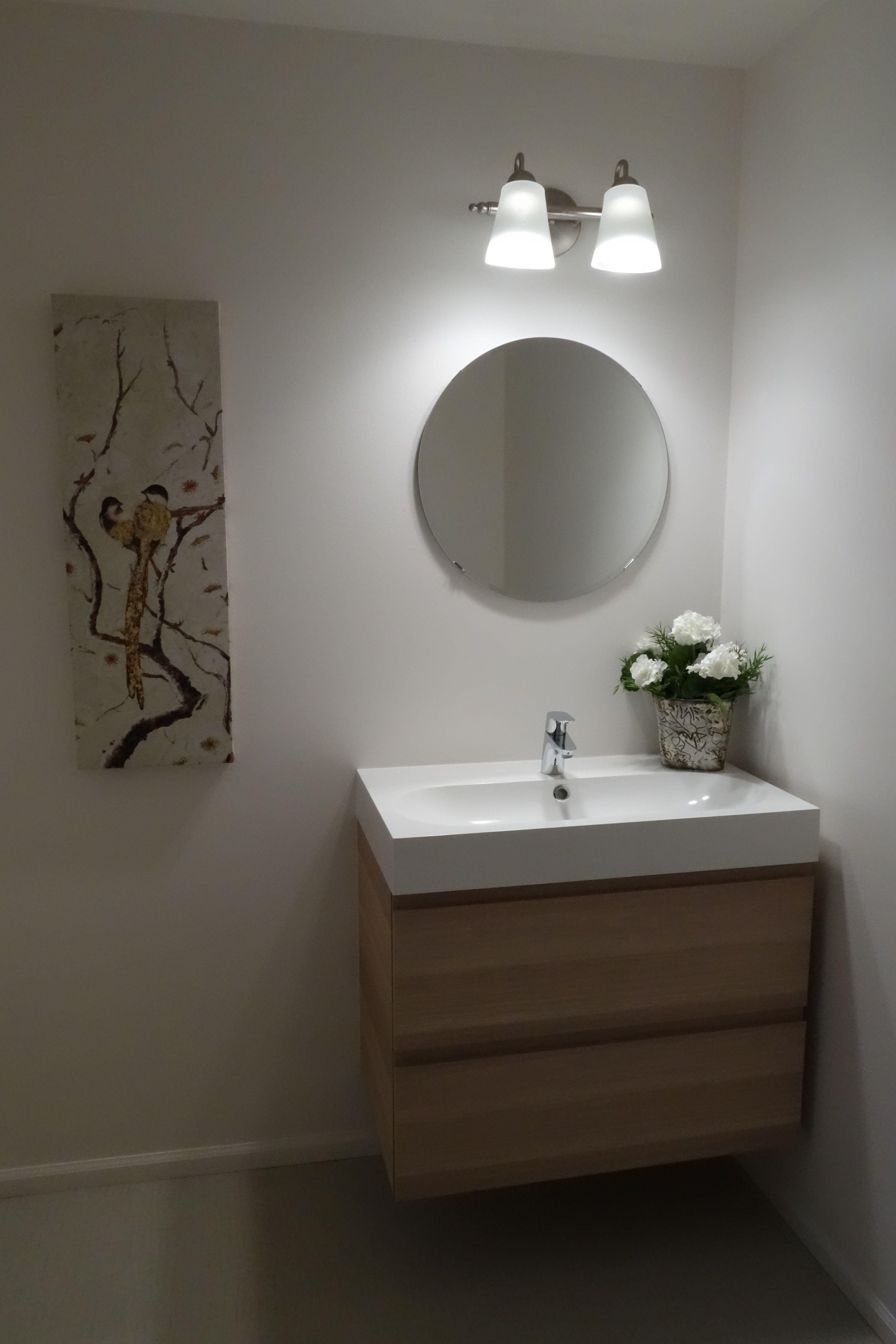 Bathroom Remodel Ikea Godmorgon Cabinet Projects Pinterest