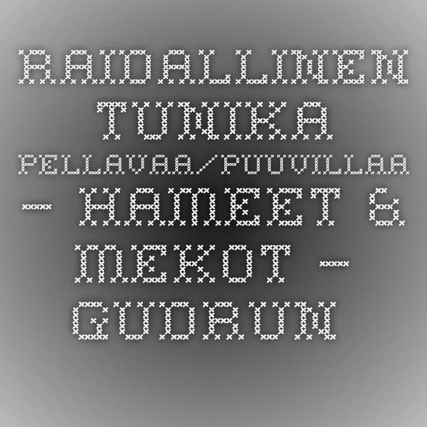 Raidallinen tunika pellavaa/puuvillaa – Hameet & mekot – GUDRUN SJÖDÉN - vaatteita verkossa ja postimyynnissä
