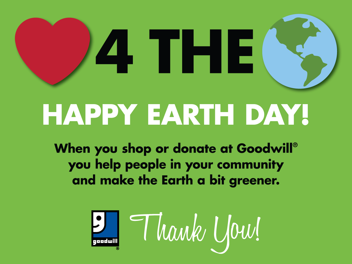 Show The Earth Some Love Today And Every Day When You Donate