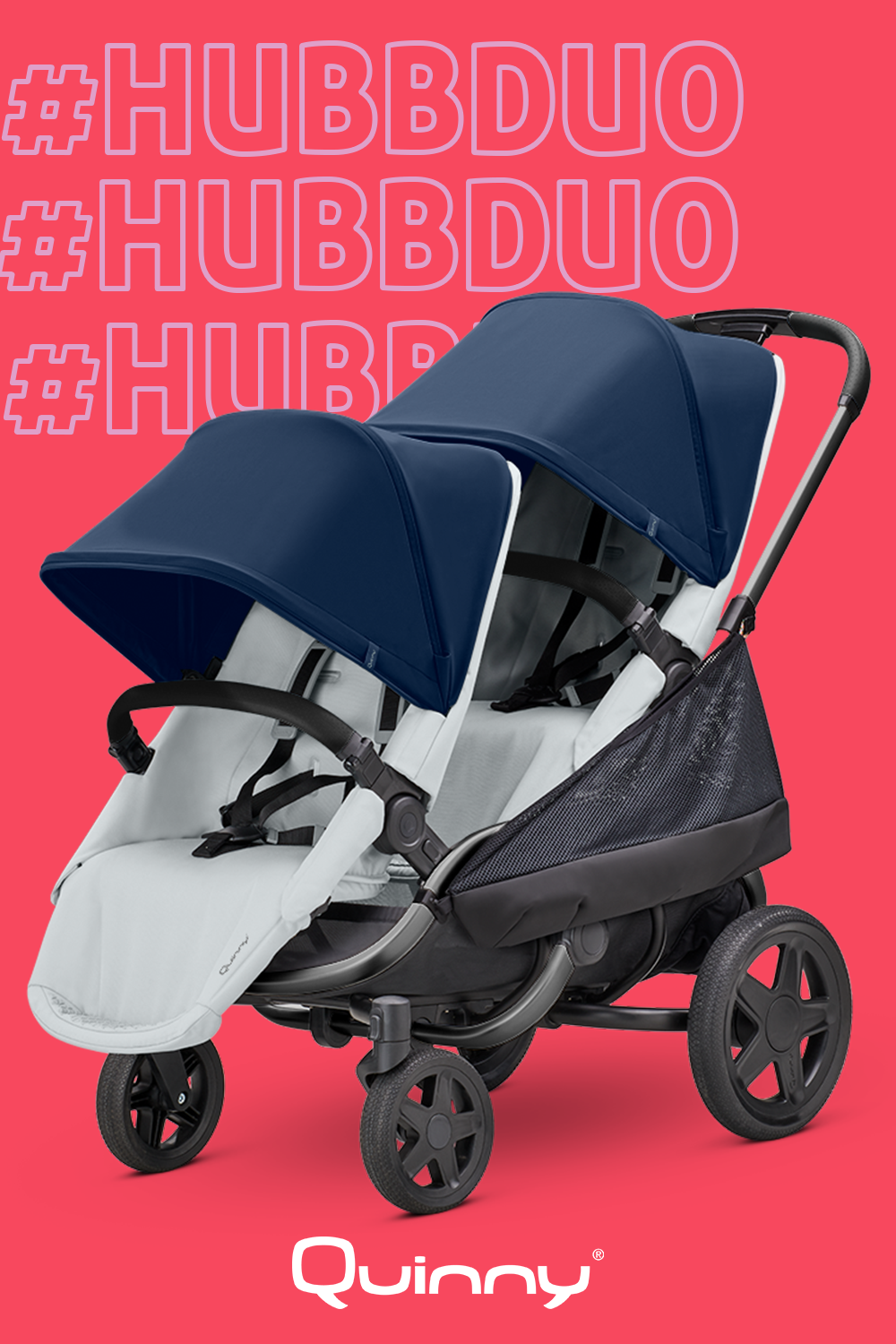 Meet the Quinny Hubb Duo, the comfortable twoseater