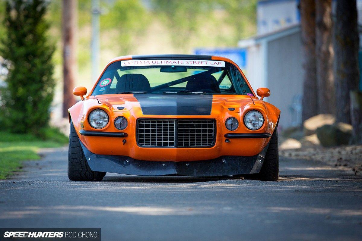 The Raging Heavyweight A Pro Touring Camaro American
