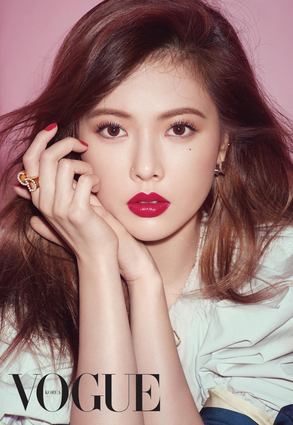 4minute HyunA in Vogue Korea March 2017 Look 1 | Азиатская ... Hyuna 2019
