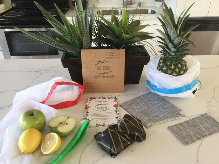The CaliLifestyle is a small business geared torwards those seeking a healthy and fulfilling life. We are gradually growing our line of home and kitchen products! Currently, our beeswax wraps are available on Amazon. They are nontoxic, biodegradable, and reusuable. Each order comes with three mesh bags! We hop that you become part of this growing community as we change our lives and health!