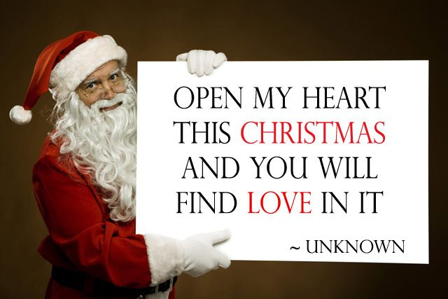 Elegant Merry Christmas Day Message From Santa. Christmas Love Quotes For Him