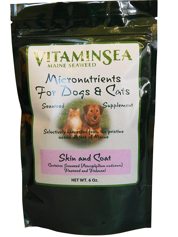 Vitaminsea USDA Certified Organic Seaweeds Pet Supplement