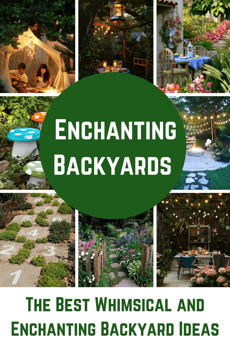 Dreamy and whimsical DIY backyard landscaping projects and ... on Whimsical Backyard Ideas id=84787