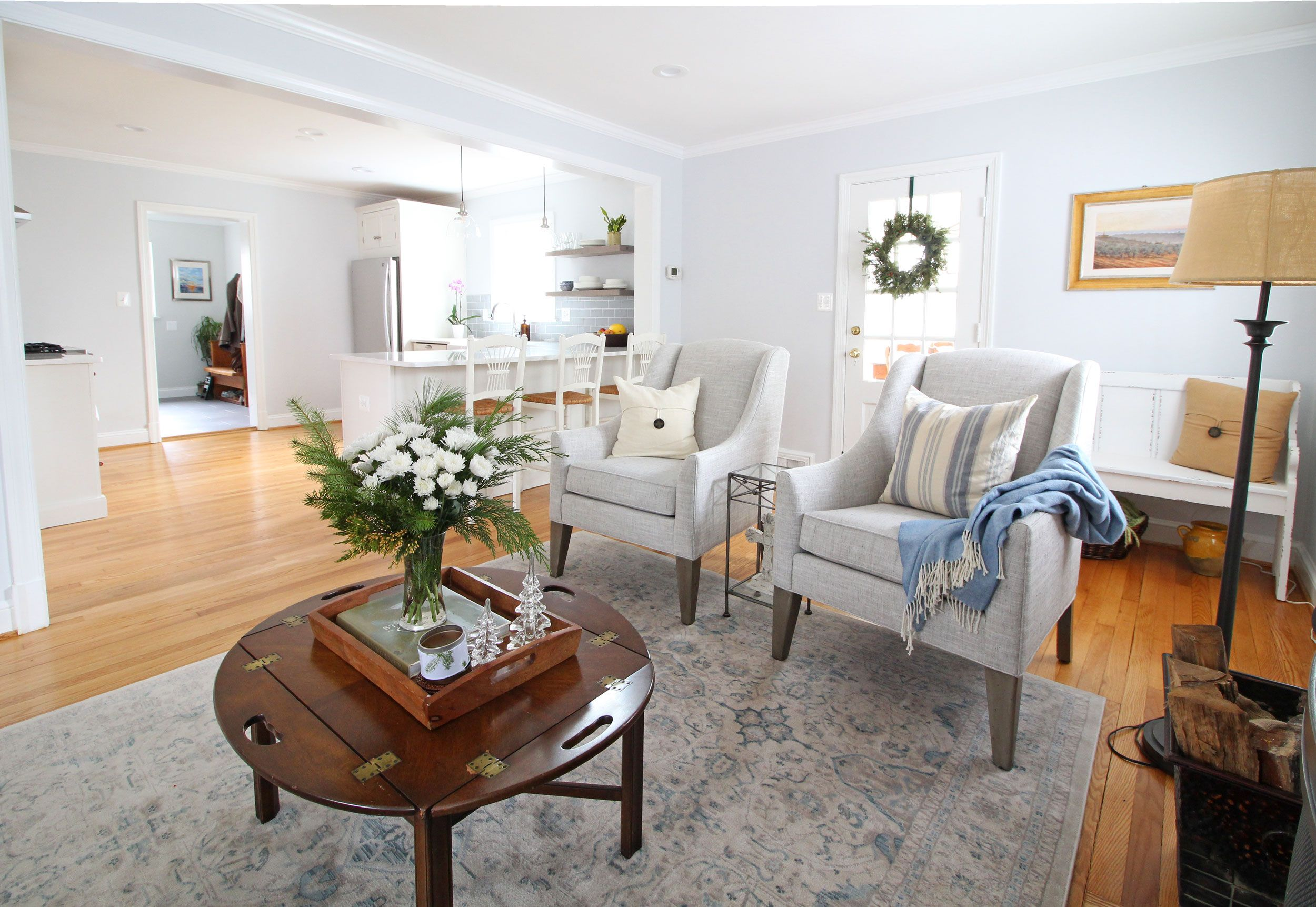 Before + After   Farmhouse living rooms, Living rooms and Room