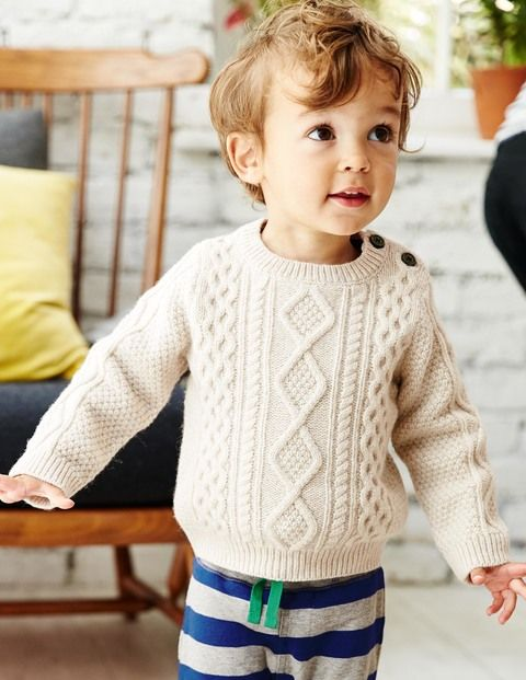 3ea26c6620e8 I love chunky sweaters on little boys...