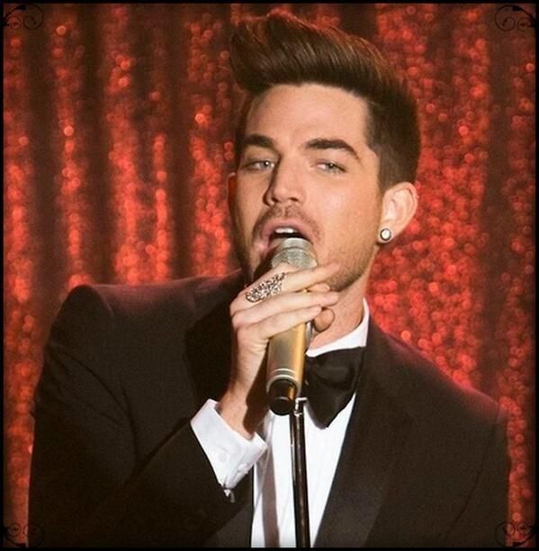 "Adam Lambert on Glee ""Trio"" 4 March 2014"