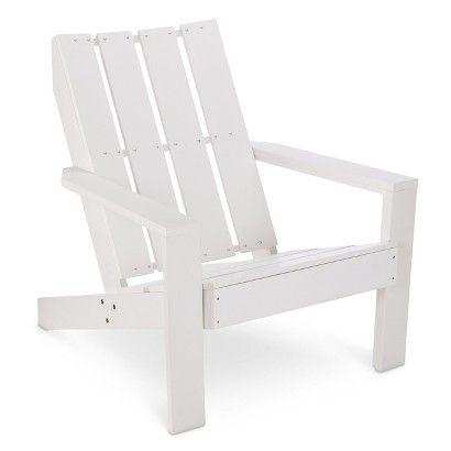 Threshold Bryant Faux Wood Patio Adirondack Chair Wood Patio Adirondack Chairs Patio Patio Furniture Collection