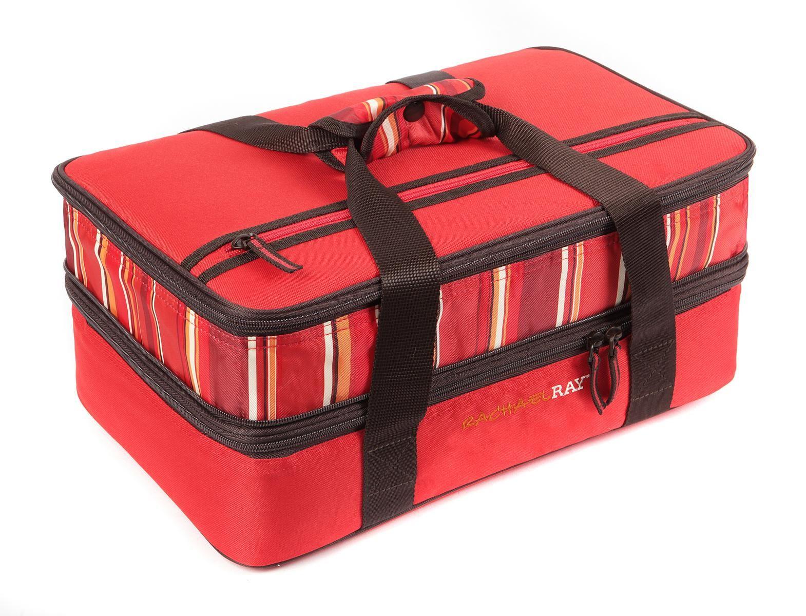 Beau Casserole Carrier;insulated Food Carrier;food Carrier;pyrex Portable