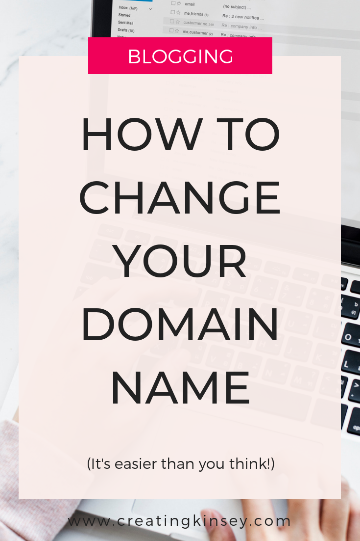 Change Your Domain Name You Changed Naming Your Business Names
