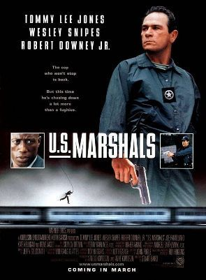 U S Marshals Film Tommy Lee Jones Movie Posters Movies