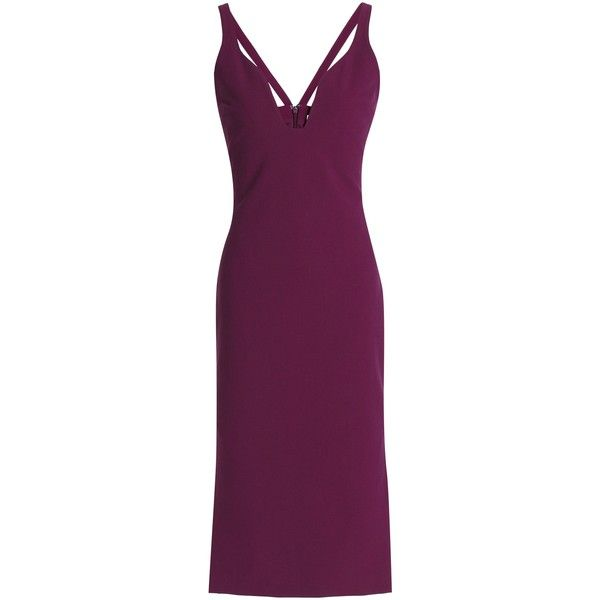 Cinq À Sept Crepe dress (15.690 RUB) ❤ liked on Polyvore featuring dresses,
