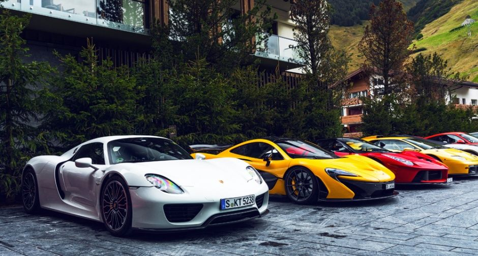 Mingle With The Mightiest Automobiles In The Supercar Owners