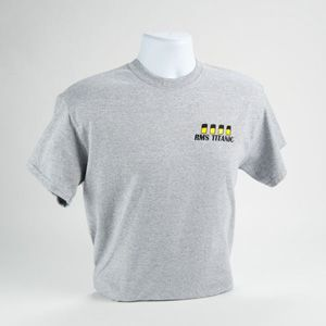 The Titanic Launches T Shirt New Black or White