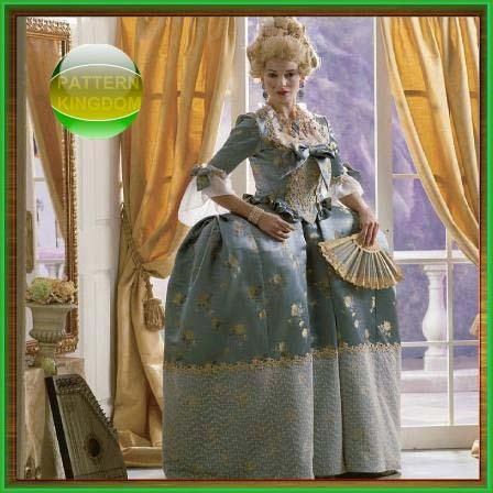 Butterick 4485 18th Century French Court Dress/Gown Pattern